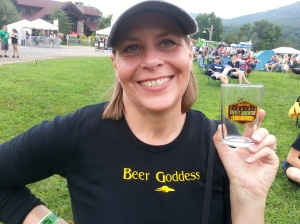 Hooked up with this Beer Goddess at the Virginia Craft Brewers Fest and took her home with me that night.