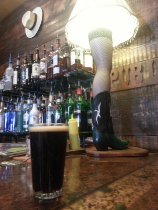 The award-winning Oatmeal Stout at Wind River Brewing Co. is almost as alluring as the cowboy version of the leg lamp.