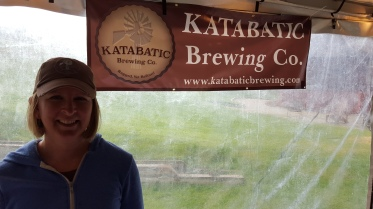 LaNette Jones, one of the owners at Katabatic Brewing Co., was on hand to serve.