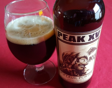 The Peak XV Imperial porter from XXXX Brewing Co. is the night's big winner.